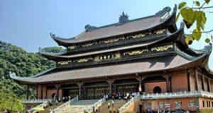 Chánh điện chùa Bái Đính.